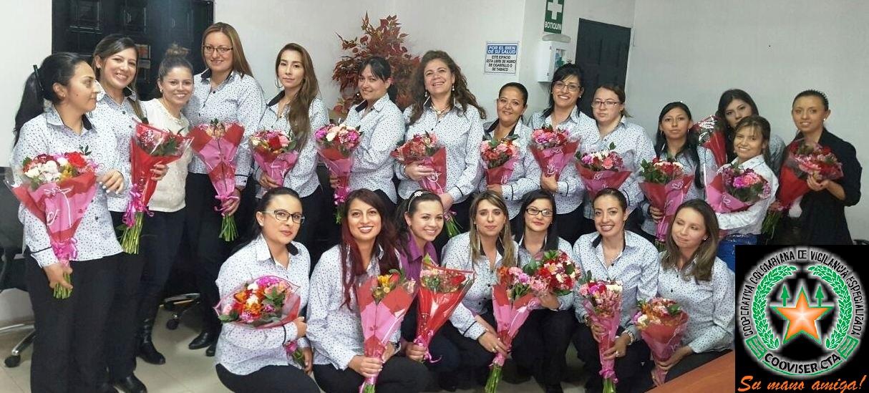 Homenaje a nuestras colaboradoras en el día de la mujer